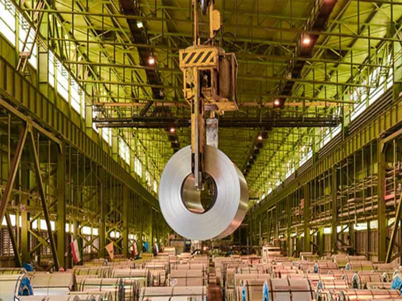 علت افت مصرف فولاد و رشد صادرات