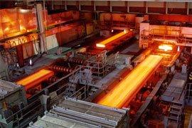 وزنه سنگین فولاد روی کفه ترازو صادرات