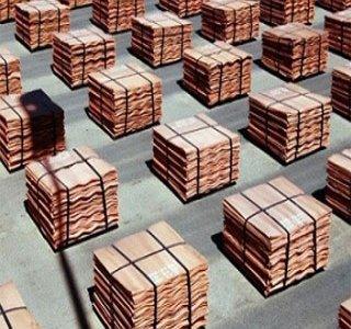 متوسط قیمت مس در بورس فلزات لندن