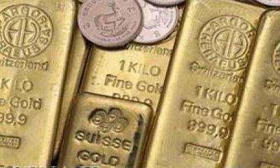 کاهش قیمت مسلندن و افزایش قیمت طلا در بازارهای جهانی