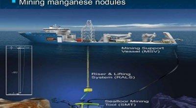 رباتهای حفاری برای استخراج معادن اقیانوسی
