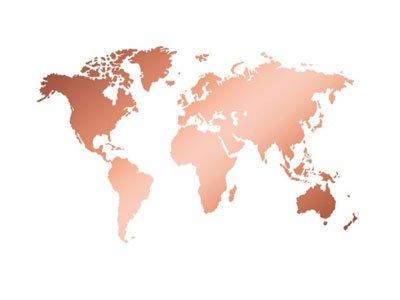 صعود چشمگیر تولید مس جهانی