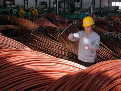 موجودی پایین مس در بازار چین