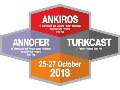 نمایشگاه بینالمللی ریختهگری و متالوژی استانبول ترکیه ۲۰۱۸