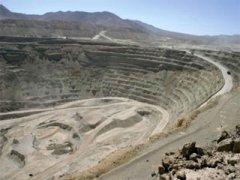 معدنکاری مس شیلی روی ریل توسعه