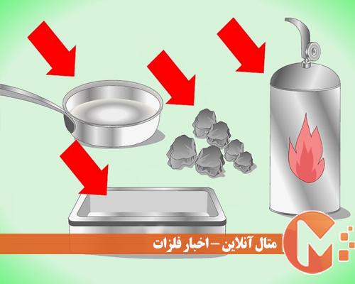 تهیه ظرف و منبع حرارت